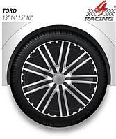 Колпаки Argo R13 TORO black silver (черно-серебр.) (ARGO)