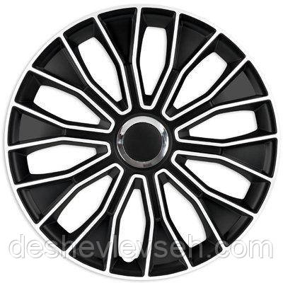 Колпаки Argo R13 VOLTEC black white (бело-черн), (ARGO)