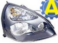 Фара левая и правая серая на Рено Симбол (Renault Symbol) 2006-2008