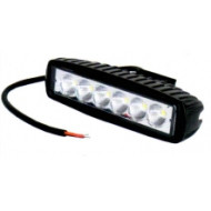 LED Фара рабочая 18W/60, (6x3W) 1320 lm широкий луч,