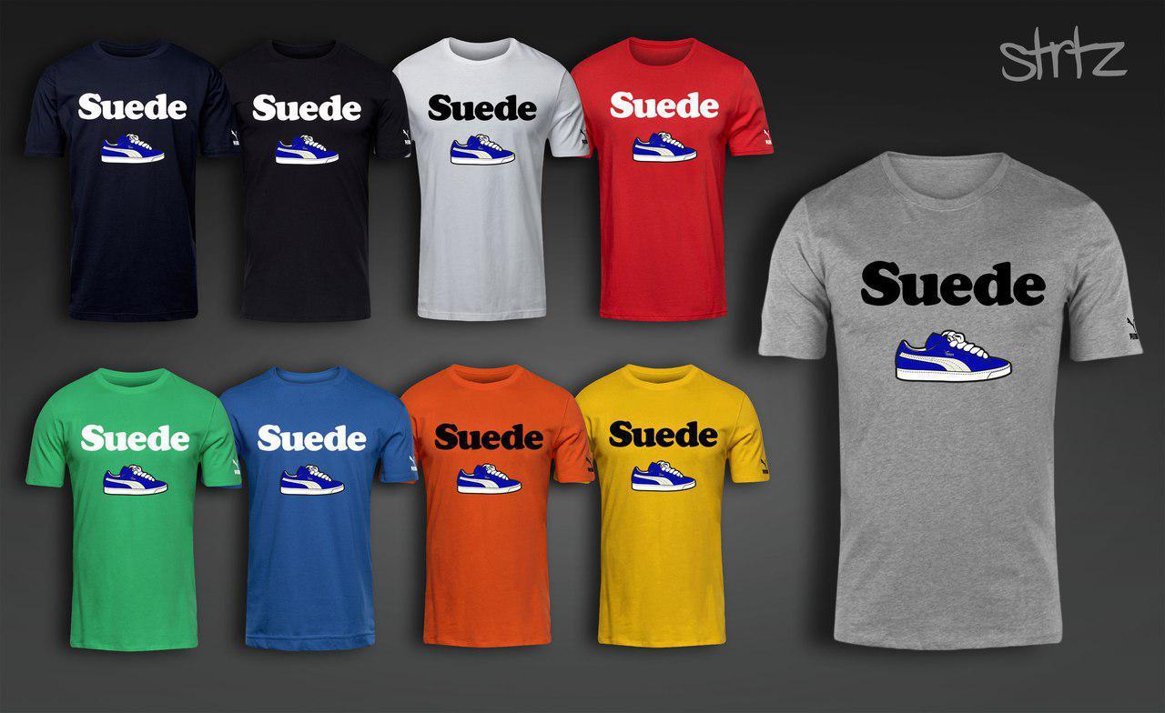 62834624 Летняя легкая спортивная футболка для парня с принтом городской кросовок  пума суид Puma Suede, цена 300 грн., купить в Днепре — Prom.ua  (ID#679405796)