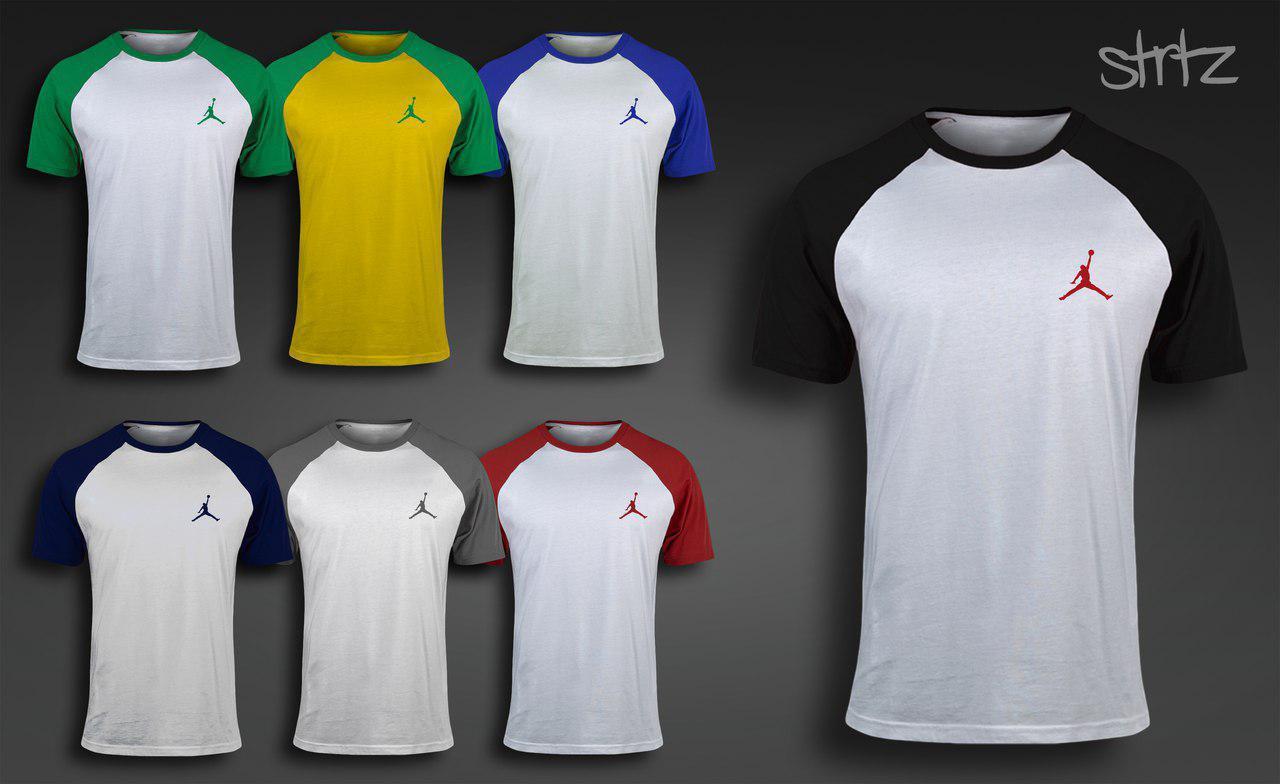Стильная баскетбольная футболка на лето реглан джордан Jordan -  Интернет-магазин