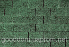 "Битумная черепица ""IKO"", Superglass 03 (Amazon Green)"
