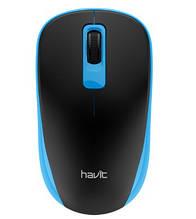Беспроводная мышка HAVIT HV-MS626GT, USB, черно-синяя
