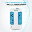 Сетевое зарядное устройство Promate powerGrid-1 White, фото 3