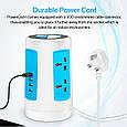 Сетевое зарядное устройство Promate powerGrid-1 White, фото 5