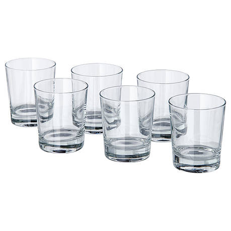 ГУДИС Стакан, прозрачное стекло, 230 мл 80092109 IKEA, ИКЕА, GODIS, фото 2