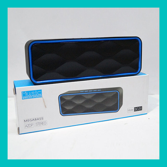Мобильная колонка SC-211 Music Wireless!Акция