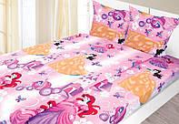 Комплект детского постельного белья для девочки