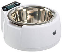 Ferplast Optima металлическая миска с весами для собак и кошек