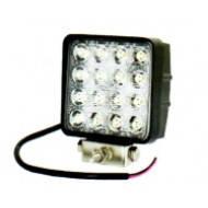LED Фара рабочая 48W/60, (16x3W) 3520 lm широкий луч , фото 2