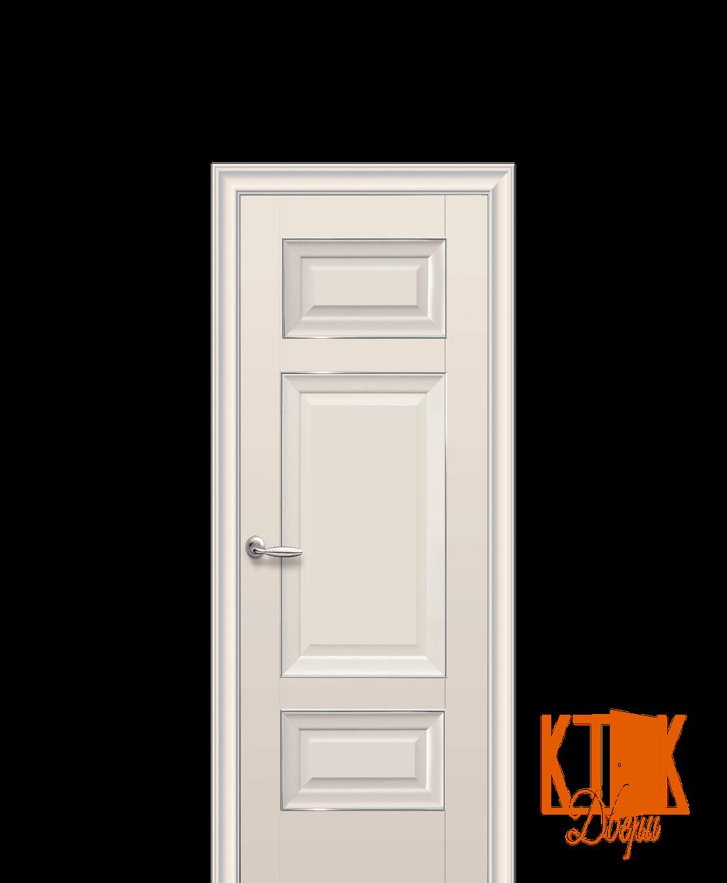 Межкомнатные двери Новый Стиль Шарм глухое (капучино)