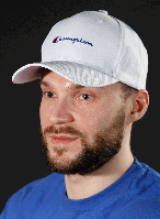 Кепка Champion белая Топ Реплика, фото 1