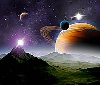 Фотообои космос, планета