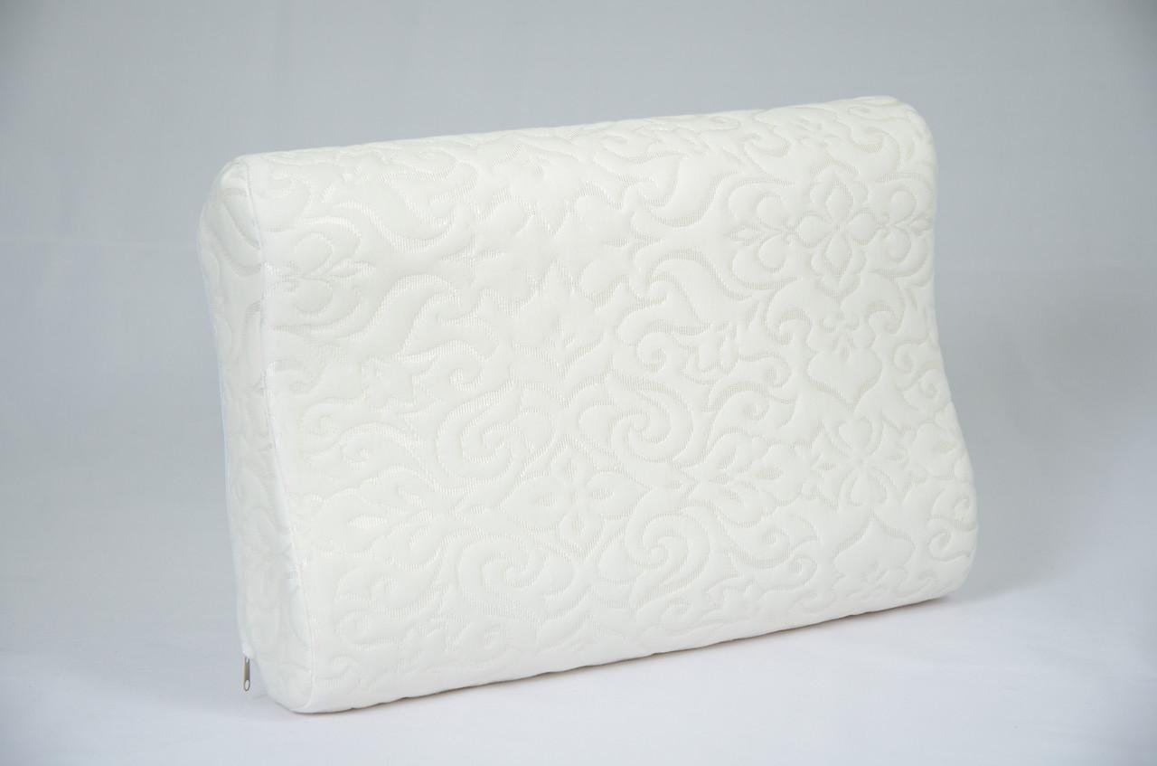 Ортопедическая подушка VIVA «Memorу№1», 320*480*100мм, латекс, чехол трикотажный