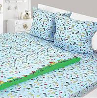 Комплект детского постельного белья Фланель 147х112