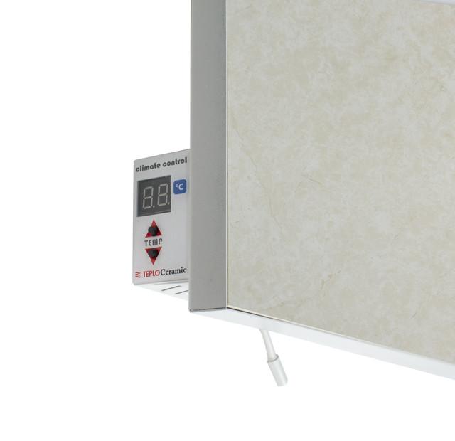 Керамический обогреватель с терморегулятором - мрамор 550 Вт.11 м.кв. Теплокерамик TCM-RA 550