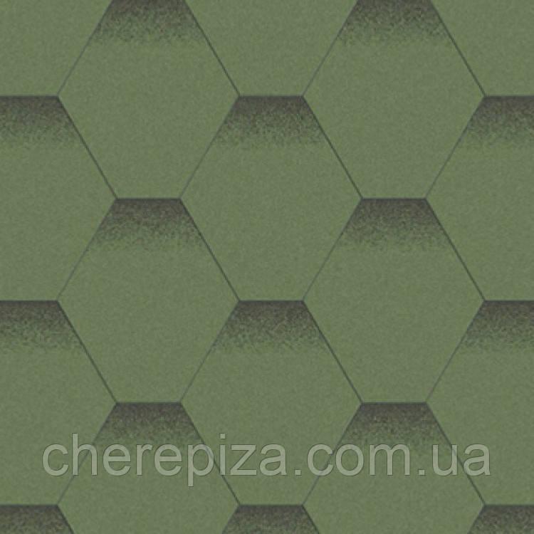 Битумная черепица Акваизол  Мозаика Альпийский луг
