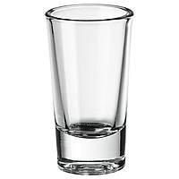 ФИГУРЕРА Рюмка, прозрачное стекло, 25 мл 40309460 IKEA, ИКЕА, FIGURERA