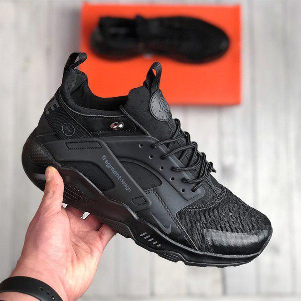 Nike Air Huarache Fragment design black