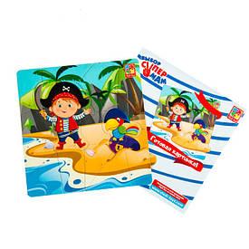 Пазлы на магните Vladi Toys Пираты 14 элементов (VT3204-04)