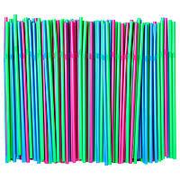 СОДА Трубочка для напитков, зеленый флуоресцентный/ярко-синий/ярко-розовый 50354598 IKEA, ИКЕА, SODA