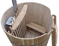 Офуро (японская ванна) Бочка из дерева различных пород: кедра, дуба, лиственницы на 1300 и 1800 л Код: КГ4093