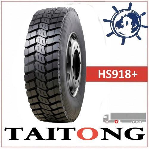 TAITONG HS918+ шина 10.00R20 (280R508) 18сл 149/146K ведущая шина на КАМАЗ