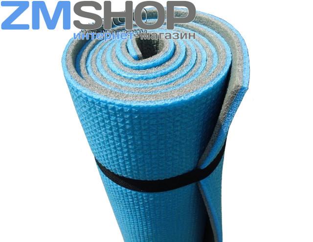 Коврик гимнастический (каремат) Спорт 8 мм (двухслойный, тиснение с одной стороны)