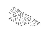 Защита двигателя задняя Nissan Leaf ZE0 (10-13) 74811-3NA0A