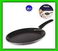 Сковорода блинная FRICO FRU 973 24 см тефлоновая
