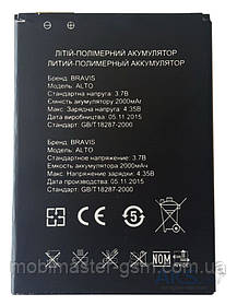 Аккумуляторная батарея для телефона Bravis Alto (2000 mA\h)