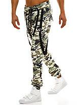 Брюки-джоггеры мужские Athletic светлый камуфляж, фото 2