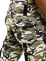 Брюки-джоггеры мужские Athletic светлый камуфляж, фото 3