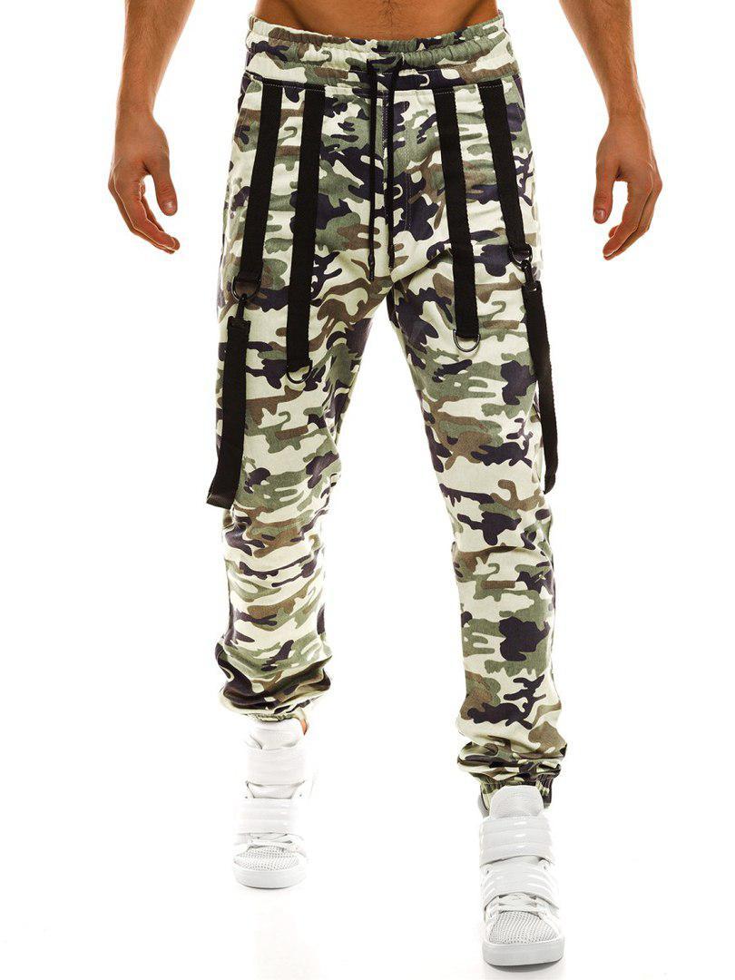 Брюки-джоггеры мужские Athletic светлый камуфляж