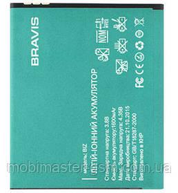 Аккумуляторная батарея для телефона Bravis Biz (1600 mA\h)