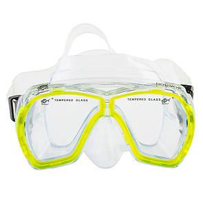 Маска для плавання Dolvor M244P лимонна