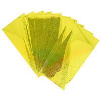 Голографическая наклейка Strike Pro для воблера 3D (10шт) желтая (цвет желтый)