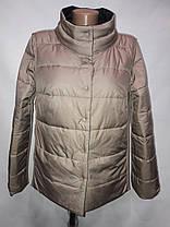 """""""Button"""", демісезонна куртка, дві сторони 52-696 чорний/беж, фото 3"""