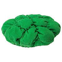 СТИККАТ Чехол для табурета Маммут, зеленый 00296271 IKEA, ИКЕА, STICKAT