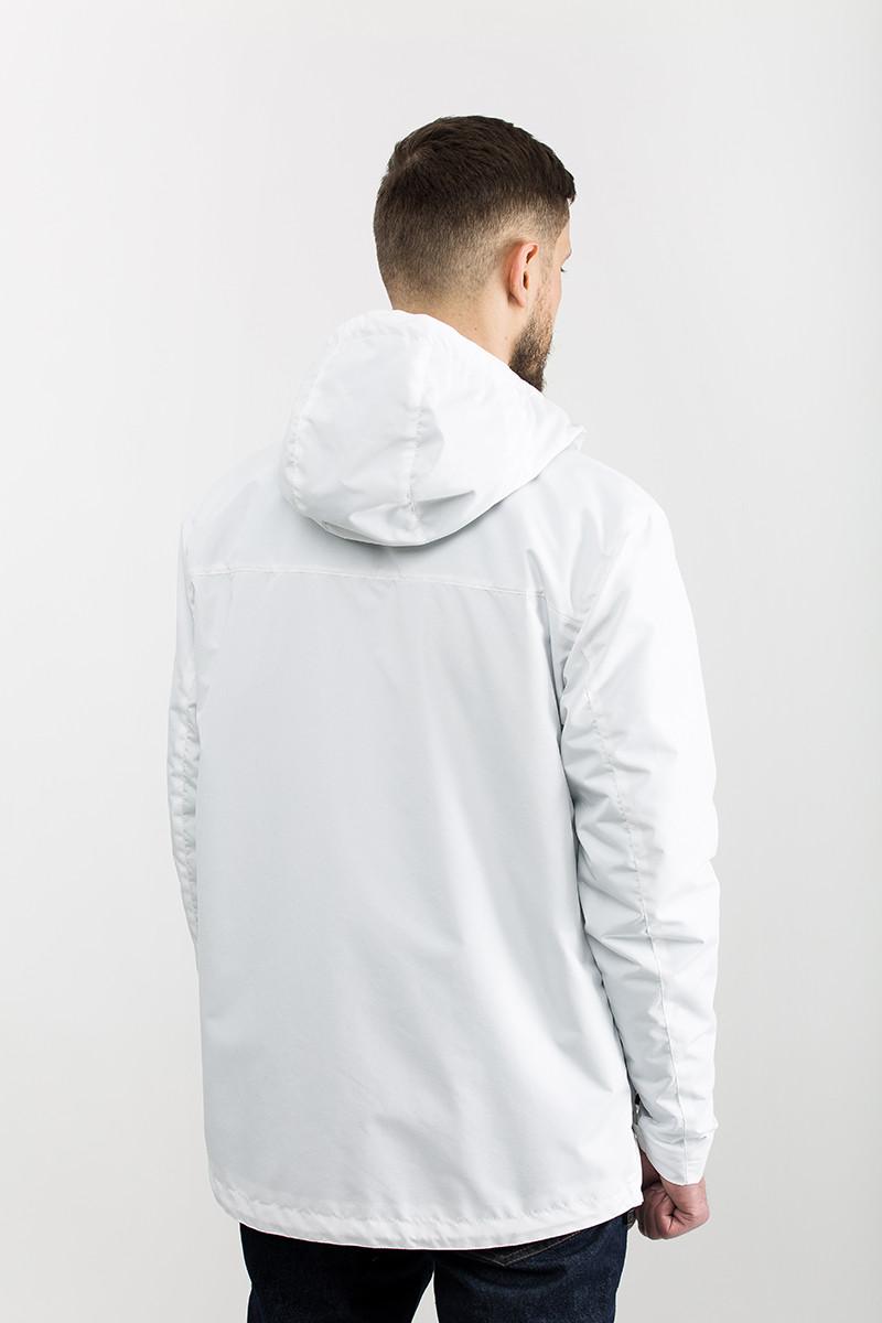 0842e301041 Куртка мужская ветровка RS5 WHITE Urban Planet белый (мужская куртка ...