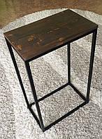 Журнальный столик из металла