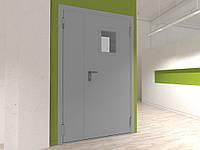 Технические двустворчатые  двери