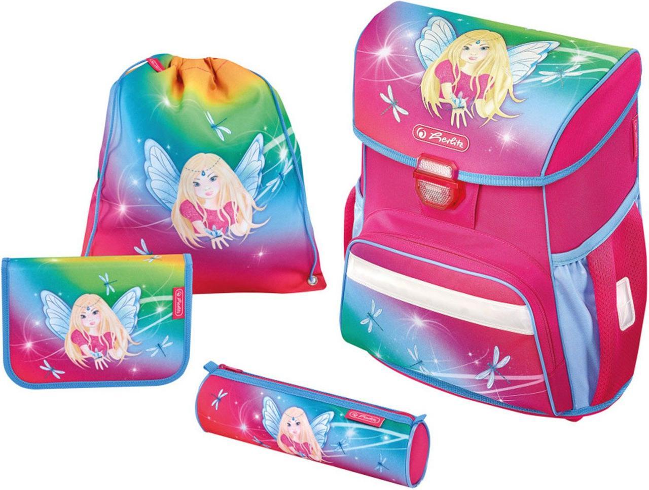 d907a93e76e3 Ранец Herlitz Loop Rainbow Fairy с девочкой феей 50013845 - Интернет  магазин