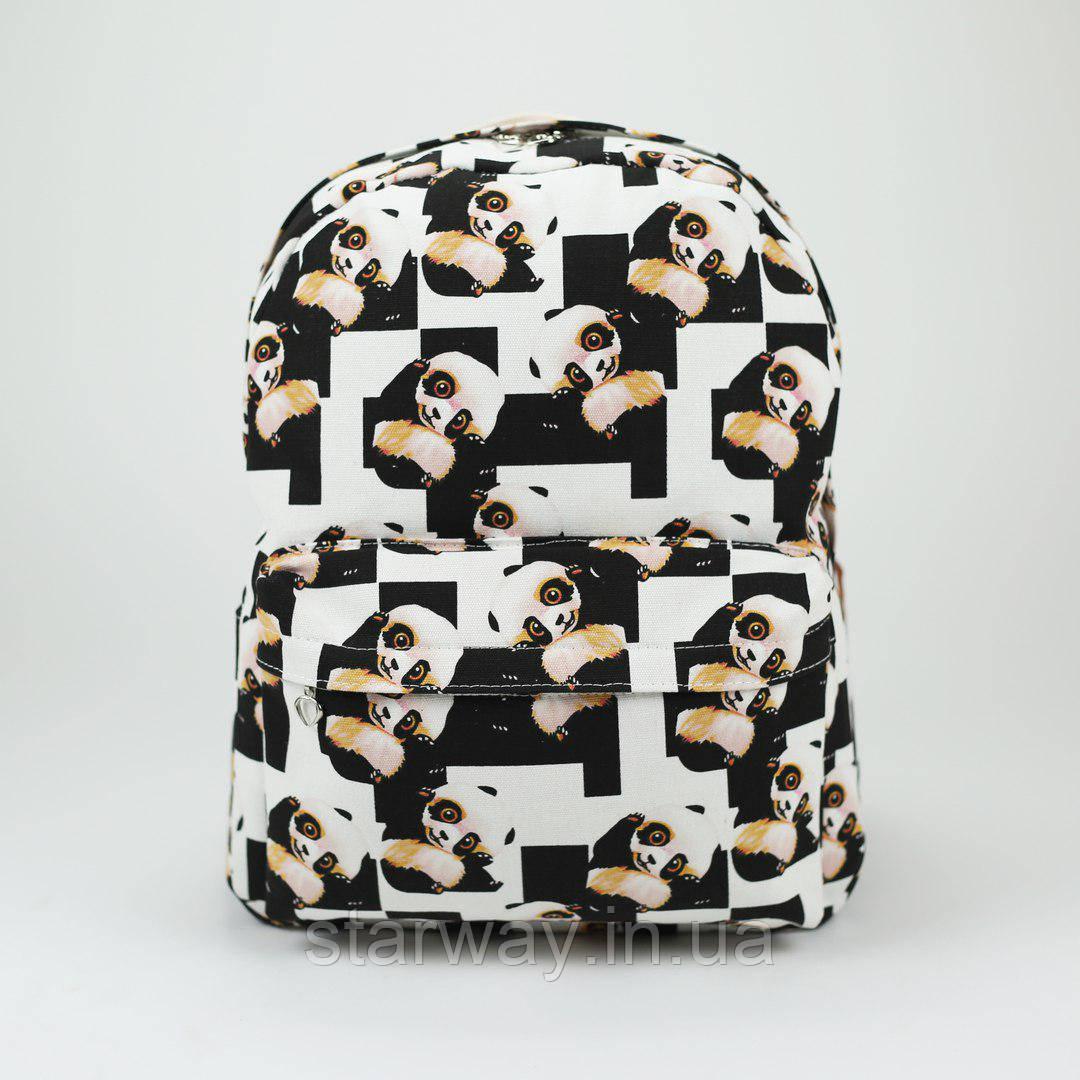 Рюкзак стильный Wacse Panda logo