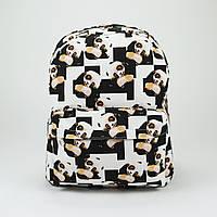 Рюкзак стильный Wacse Panda logo , фото 1