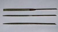 Надфиль с алмазным напылением, плоский L160