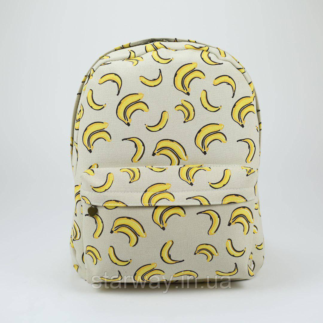 Рюкзак стильный Wacse banana logo