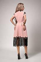 Сукня клешное під пояс, фото 2
