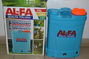 Акумуляторний обприскувач AL-FA 8A, 16L